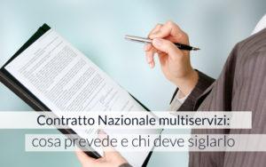 contratto nazionale multiservizi
