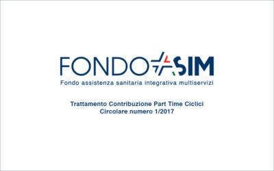 Trattamento Contribuzione Part Time Ciclici