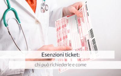 Esenzioni ticket: chi può richiederle e come