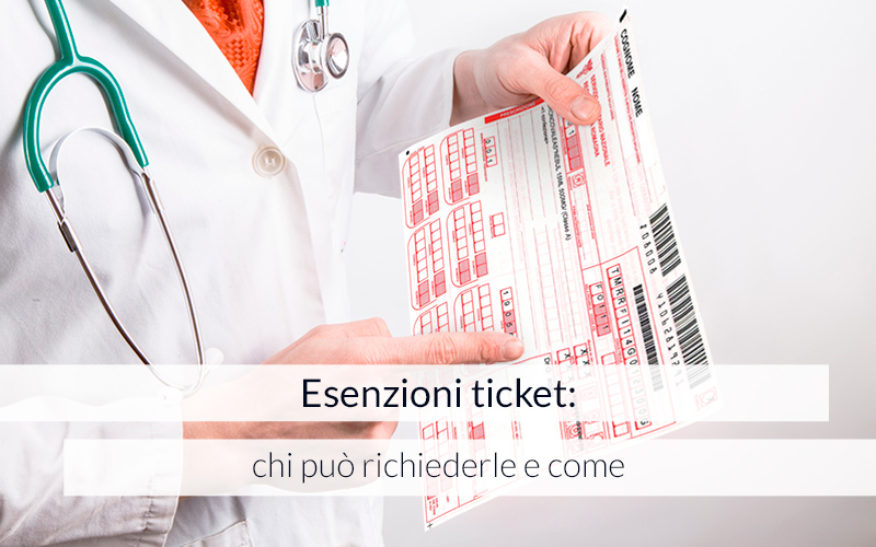 esenzioni ticket