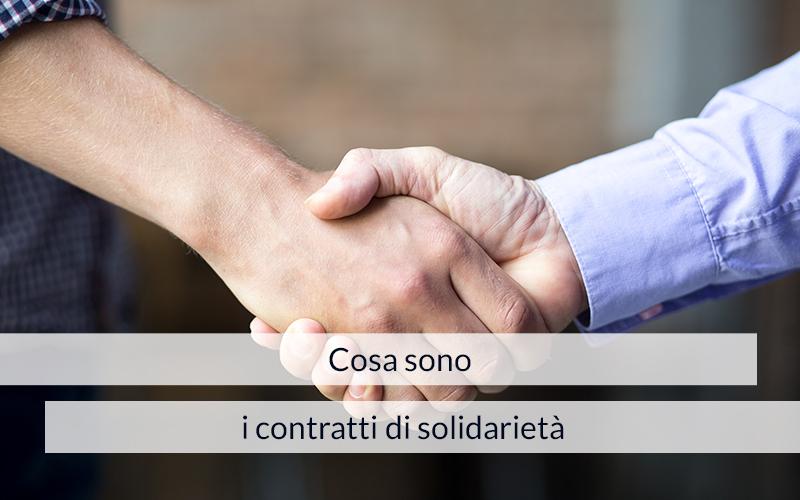 Contratti di solidarietà