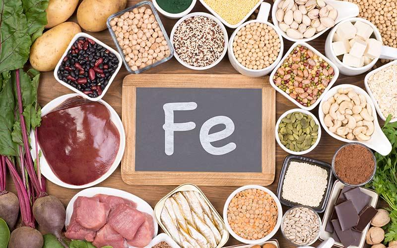 dieta carenza di ferro