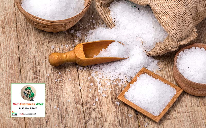 ridurre il consumo di sale