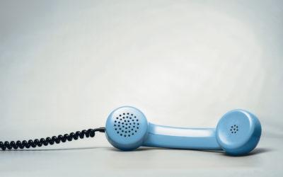 Avviso disservizio rete telefonica